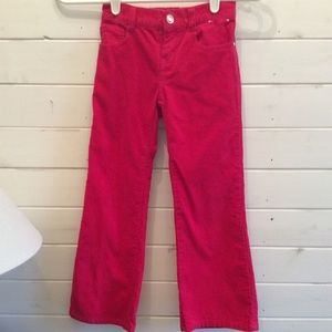 Gymboree girls hot pink cords